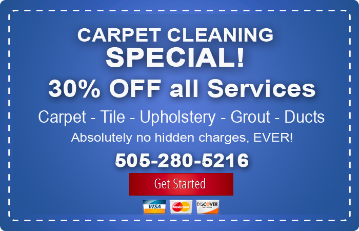 albuquerque carpet cleaning 35 percent discount offer coupon picture