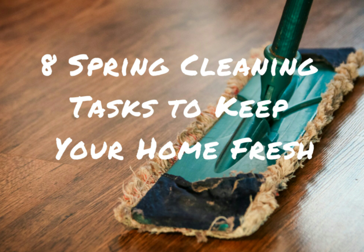 8 spring cleaning tasks